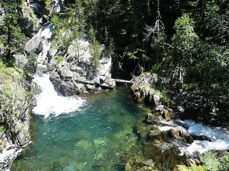 Cascadas desde el Mirador