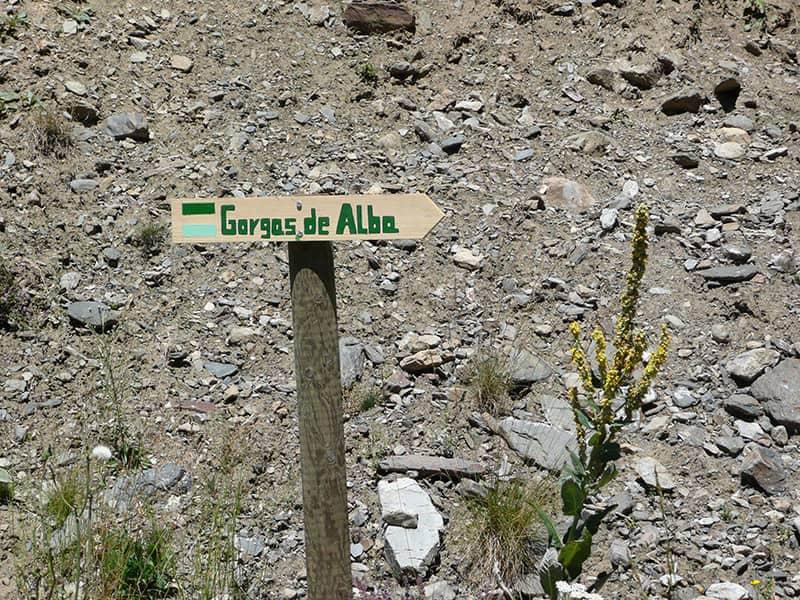 Excursion Gorgas de Alba