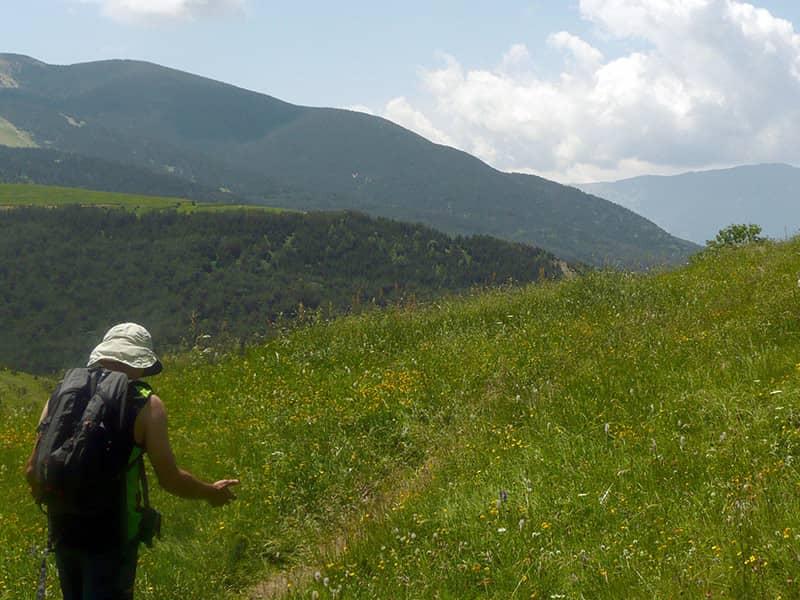 Camino alto de las 3 Cascadas